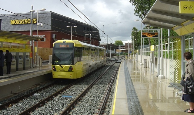 Chorlton Metrolink station - 2011-07-16